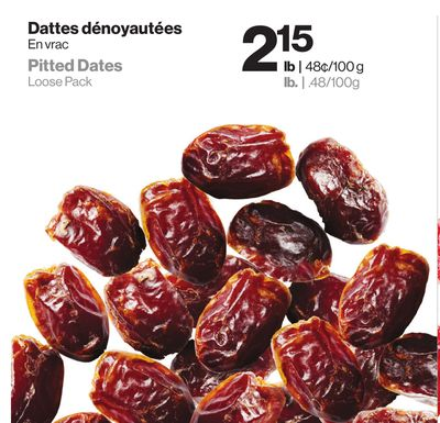 Whole Pitted Dates - Date - Bulk Dried Fruit by the Pound - Eatnuts ...