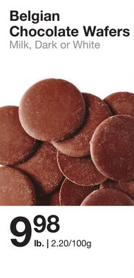 Belgian Chocolate Wafers