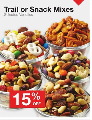Trail or Snack Mixes