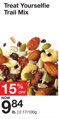 Treat Yourselfie Trail Mix