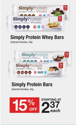 Simply Protein Whey Bars - Protein Bars