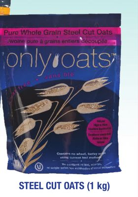 Only Oats Steel Cut Oats