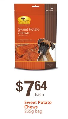 Caledon Farms Sweet Potato Chews