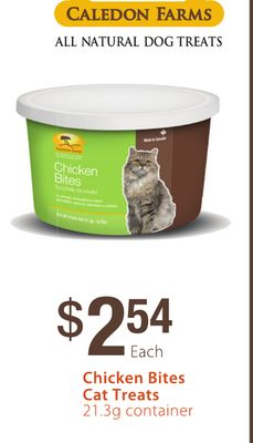Caledon Farms Chicken Bites Cat Treats