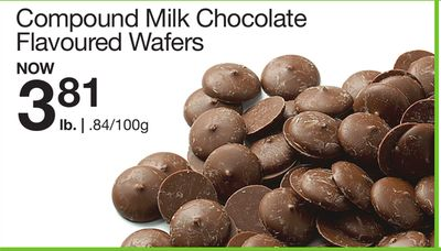 Compound Milk Chocolate Flavoured Wafers