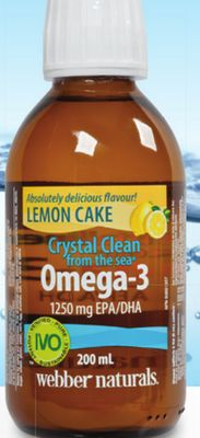 Webber Naturals Crystal Clean From The Sea Liquid Omega-3