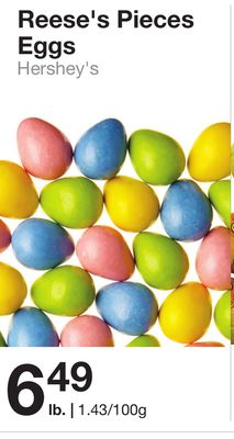 Hershey's Reese's Pieces Eggs
