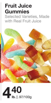 Fruit Juice Gummies
