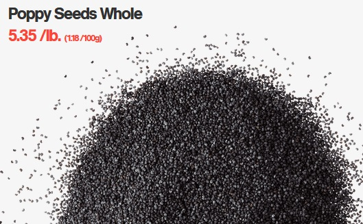 Poppy Seeds Whole