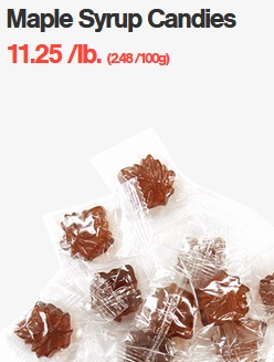 Maple Syrup Candies