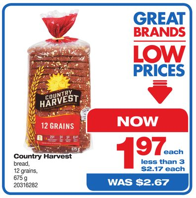 Country Harvest Bread - 675 g
