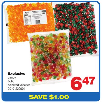 Exclusive Candy - Bulk