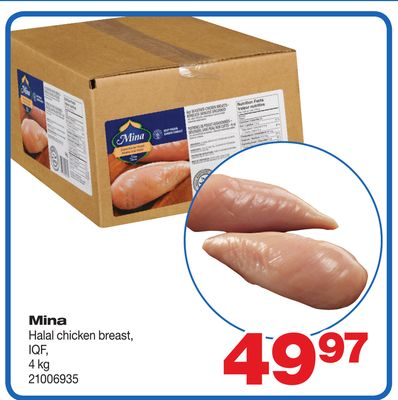 Halal Chicken Breast - 4 Kg