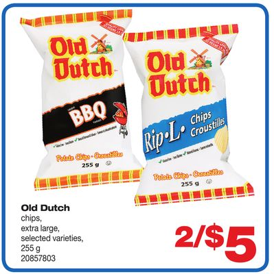 Old Dutch Chips - 255 g