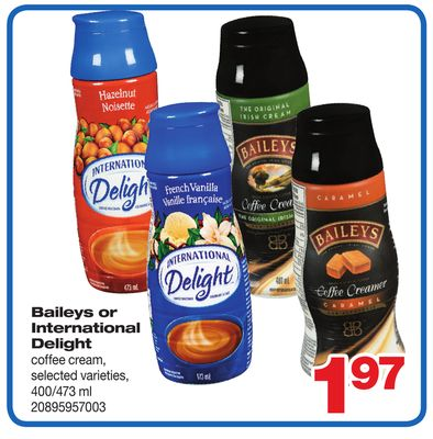 Baileys Or International Delight