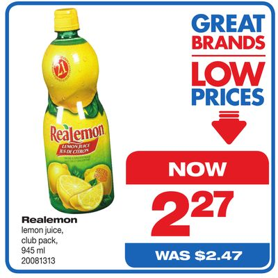 Realemon - Club Pack - 945 ml