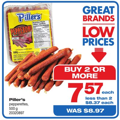 Piller's Pepperettes
