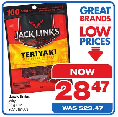 Jack Links Jerky - 35 G X 12