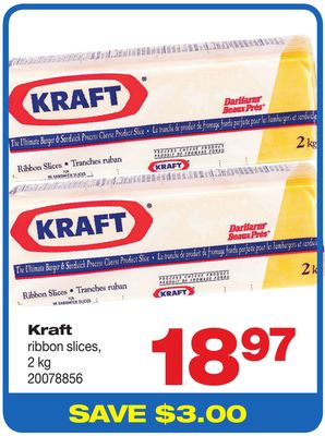 Kraft Ribbon Slices