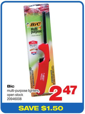Bic Multi-purpose Lighters