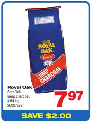 Royal Oak Star Grill - Lump Charcoal - 4.54 Kg