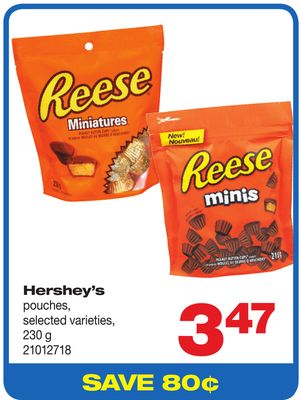 Hershey's Pouches - 230 G