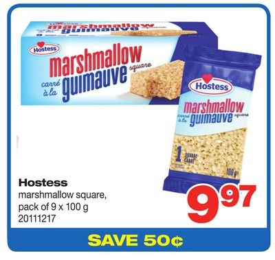 Hostess Marshmallow Square - Pack of 9 X 100 g