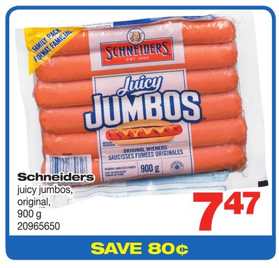 Schneiders Juicy Jumbos - 900 g