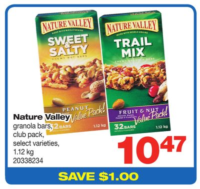 Nature Valley Granola Bars - 1.12 Kg