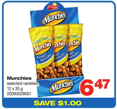 Munchies - 12 X 35 G