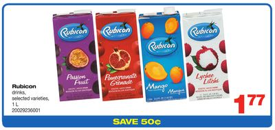 Rubicon Drinks - 1 L