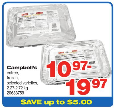 Campbell's Entree - 2.27-2.72 Kg