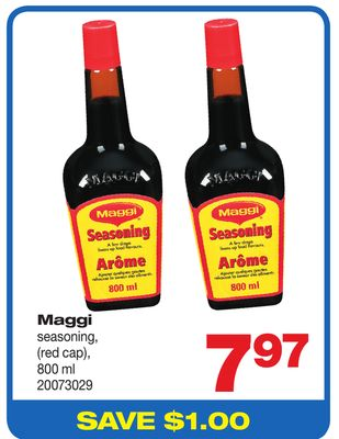 Maggi Seasoning - (Red Cap) - 800 ml