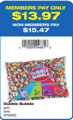 Dubble Bubble GUM - Twist