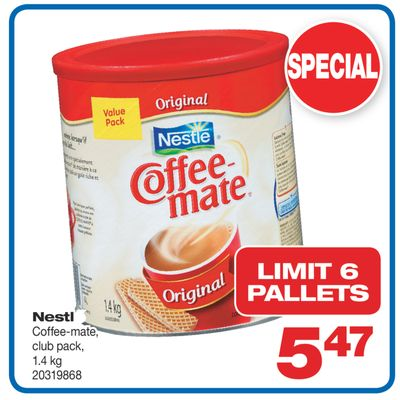 Nestle Coffee-mate - 1.4 Kg