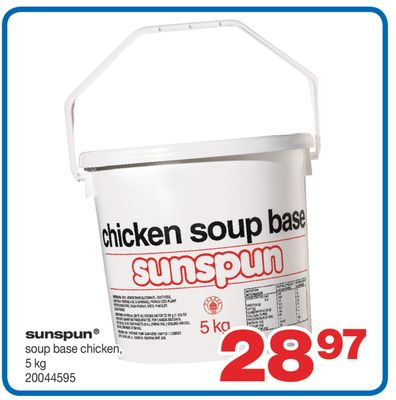 Sunspun Soup Base Chicken - 5 Kg