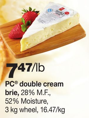 PC Double Cream Brie