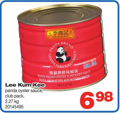 Lee Kum Kee Panda Oyster Sauce - Club Pack - 2.27 Kg