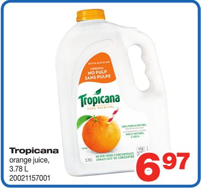 Tropicana Orange Juice - 3.78 L