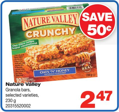 Nature Valley Granola Bars - 230 g