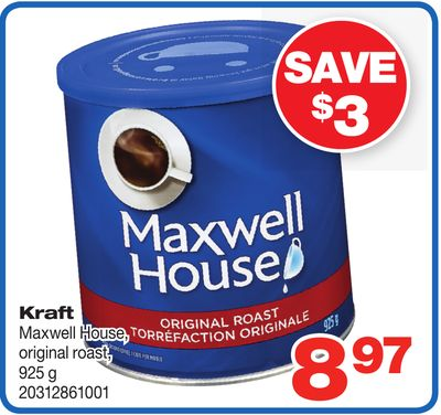 Kraft Maxwell House - Original Roast - 925 g