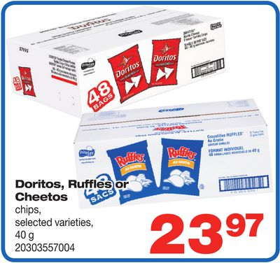 Doritos - Ruffles Or Cheetos Chips - 40 g