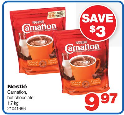 Nestlé Carnation - Hot Chocolate - 1.7 Kg