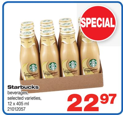 Starbucks - 12 X 405 ml