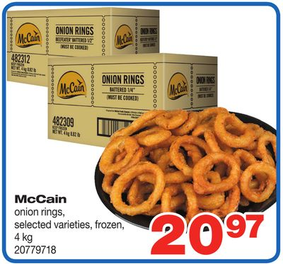 Mccain Onion Rings - 4 Kg