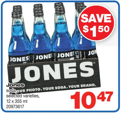 Jones Soda - 12 X 355 ml