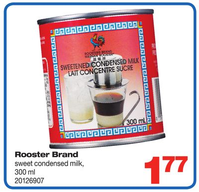 Rooster Brand Sweet Condensed Milk - 300 ml