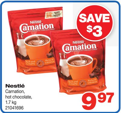 Nestlé Carnation Hot Chocolate - 1.7 Kg