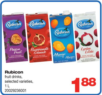 Rubicon Fruit Drinks - 1 L