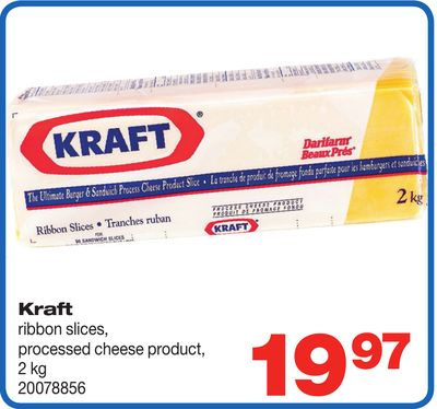 Kraft Ribbon Slices - 2 Kg
